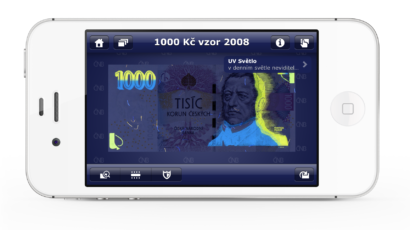 Mobilní aplikace České národní banky České peníze nově pro Android