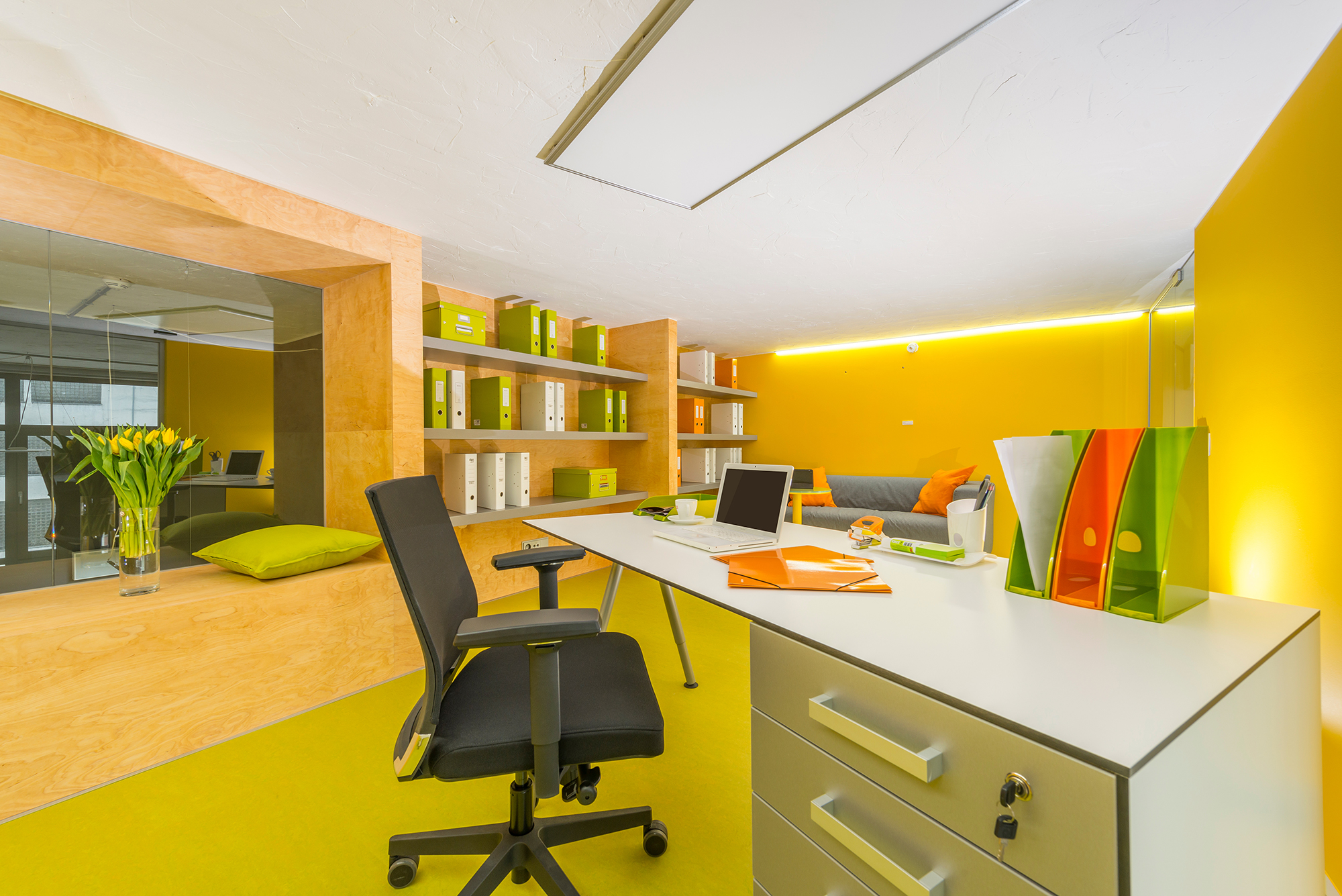 V centru Zlína lze mít kancelář i byt jako vNew Yorku