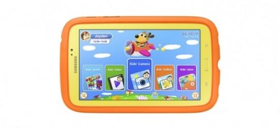 Samsung GALAXY Tab3 Kids - tablet pro děti
