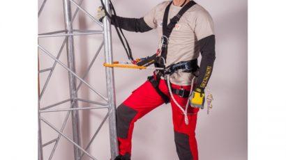 Bezpečný pohyb ve výškách si žádá profesionální vybavení